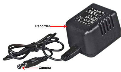 Lawmate, PV-AC30 Covert Camera with Audio, AC adaptor, self recording DVR