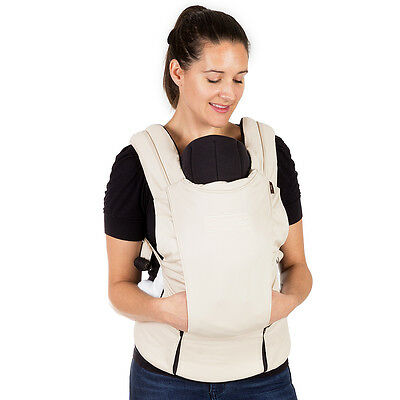 Mountain Buggy Juno Baby Carrier in Sand New Includes Infant Insert! Free Ship!