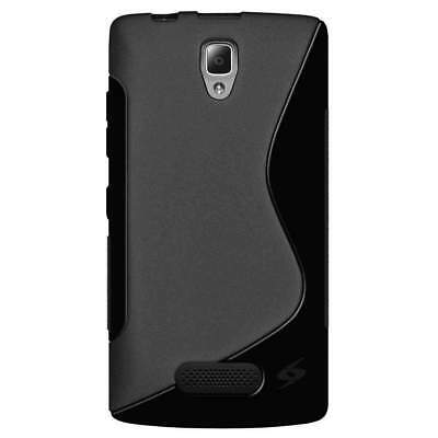 Amzer Pudding Tpu Soft Skin Fit Back Case Cover For Lenovo A2010 - Black