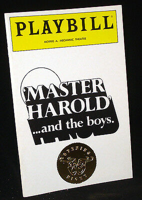 master harrold and the boys essay The play master harold and the boys by athol fugard takes place in a small tea  house in port elizabeth in south africa the play starts off with.