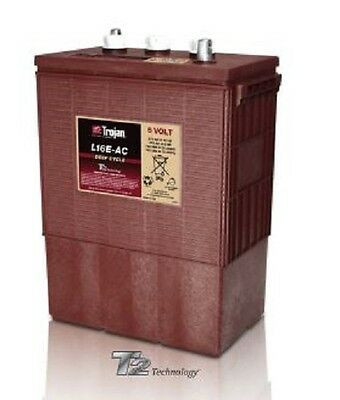 Trojan L16E-AC Flooded Lead Acid Deep Cycle Battery 6V 370Ah