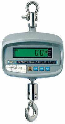 250 LBS x 0.1 LBS Cas NTEP NC-1 Hanging Industrial Crane Scale, Wireless Remote