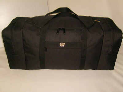 Expedition duffle travel bag with U opening easy excess,2 end compartments U S A