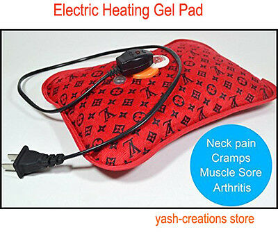 Cordless Rechargeable Electric Heating Gel Pad for Hot & Cold Therapies body.