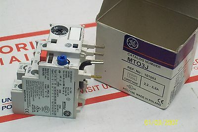 *new* Ge General Electric Overload Relay Mt03J