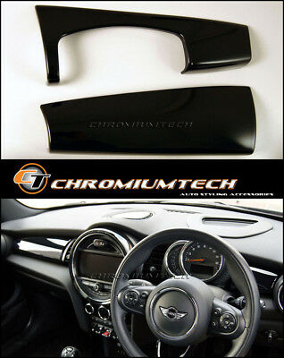 MK3 MINI Cooper/S/ONE/JCW F55 F56 F57 BLACK Dashboard Panel Trim Cover