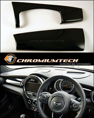 MK3 MINI Cooper/S/ONE BLACK Dashboard Trim Panel Cover F55 F56 Hatch F57 NEW