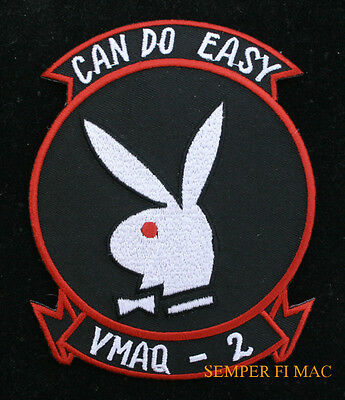Vmaq-2 Jester Patch Us Marines Whoz Yer Daddy Pin Up Bunny Maw Wing Ea6 Gift
