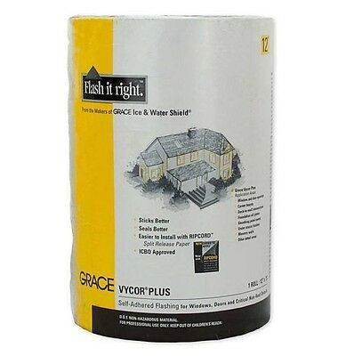 Grace Vycor Plus Self-Adhered Flashing - 12 x 75'