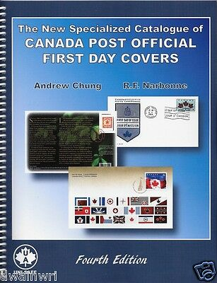 Specialized Catalogue of Canada Post Official First Day Covers, 4th Ed. - $22.95
