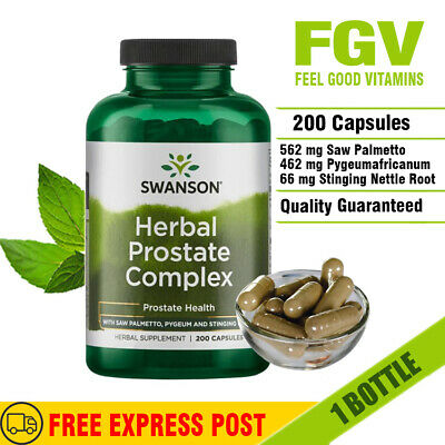 Swanson Herbal Prostate Complex - Saw Palmetto, Pygeum & Stinging Nettle 200caps