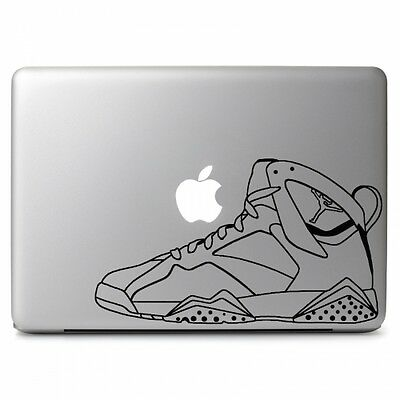 "Air Jordan 7 Retro Shoes Decal Sticker Skin for Macbook Air & Pro 13"" 15"" 17"""