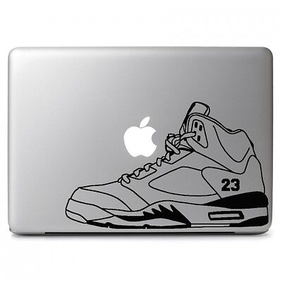 "Air Jordan 5 Retro Shoes Decal Sticker Skin for Macbook Air & Pro 13"" 15"" 17"""