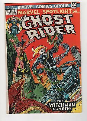 Marvel Spotlight 8 Ghost Rider F/VF
