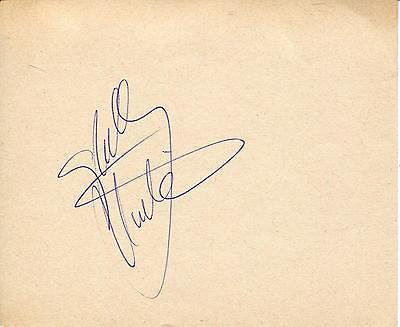 Shelley Winters The Poseidon Adventure Actress Signed Page Autograph