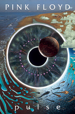 Pink Floyd Pulse Music Poster Print Classic Rock Band New 24x36 F16