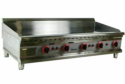 New Gas Griddle Counter Top Gas Griddle Grill Cooker 1200mm    12mm plate