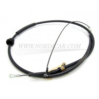 Volvo 740, 744, 745, 760 handbrake cable; left 83-87 no. 1387253