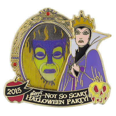 Disney Parks Evil Queen Not So Scary Halloween Pin