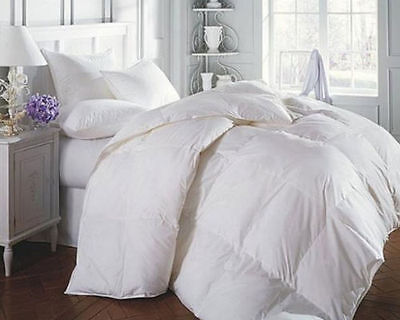 Goose Feather And Down Duvet 4.5 Tog Single Double King Superking Size Quilt
