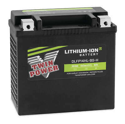 Twin Power Lithium-Ion Li 250 Cold Cranking Amp CCA Battery Harley Sportster 14L