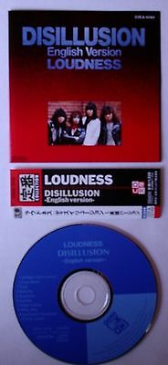 "CD von LOUDNESS - ""Disillusion"" - English Version - Label: Denon ‎– COCA-12143"