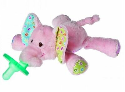 Mary Meyer WubbaNub Infant Newborn Baby Soothie Pacifier ~ Ella Bella Elephant