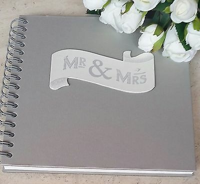 """mr & Mrs"" Guest Book, Wedding. East Of India."