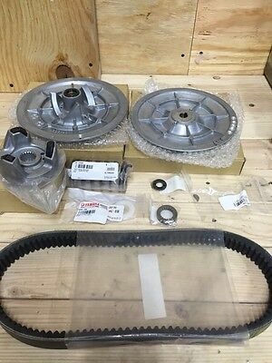Yamaha Golf Cart Driven Secondary Clutch Kit & Drive Belt G2-G22 Clutch Sheave