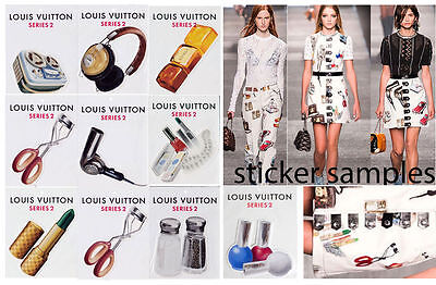 Limited Edition LOUIS VUITTON Stickers Variety Series 2 price per 1 pc PICK YOUR