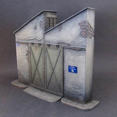Reality In Scale 1:35 The Factory - Resin Diorama Accessory w Enamel SIgn #35204