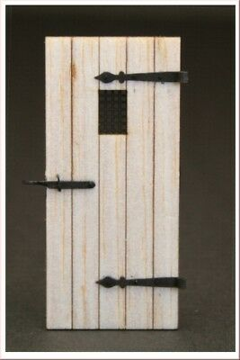 Reality In Scale 1:35 54mm Old Wooden Door #1 - Diorama Accessory #GL110