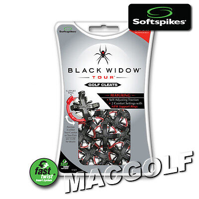 "Softspikes Kit ""Black Widow Tour"" / Ausführung ""Fast Twist"" Systeme"