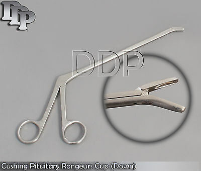 """Cushing Pituitary Rongeurs 8"""" 2x10mm Cup (Down) ENT"""