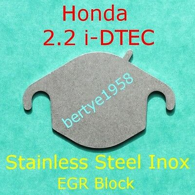 EGR valve blanking plate Honda 2.2 i-Dtec EGR Must be mapped out or limp mode