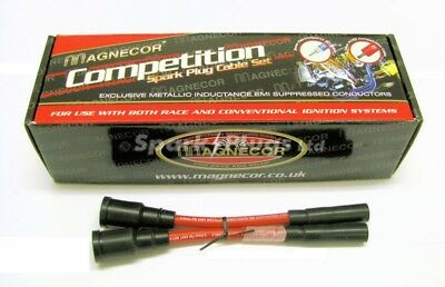 Buell XB9 XB12 Magnecor 8.5mm Performance Silicon HT Ignition Lead Set