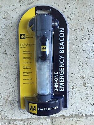 AA Car Essentials 3-in-one Emergency Beacon.