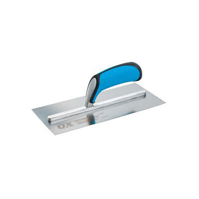 Ox Tools Pro Stainless Steel Plasterers Trowel - Fully Riveted Shank