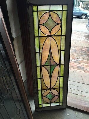 Sg 399 Pretty Pastel Colors Antique Transom Window