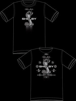 XXXXL  AUTHENTIC FORD MUSTANG CARROLL SHELBY COBRA Racing T- SHIRT 4XL WITH TAG