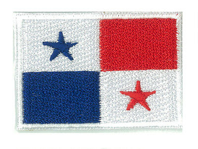 Badge badge patch embroidered iron-on patch PANAMA little / small 4,5 x 3 cm