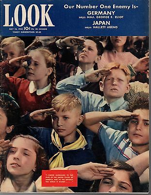 1943 LOOK July 13-Trailer City; Sikorsky Helicopter;Jane Wyman;7 year old bowler