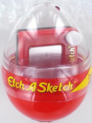 Mini Egg with ETCH A SKETCH Drawing Toy Ohio Art 50607 Miniature Doll NEW Easter