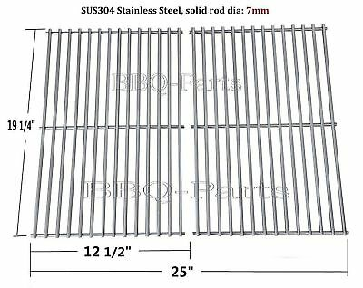 SCS612 BBQ Stainless Steel Cooking Grid Replacement for Brinkmann, Charmglow