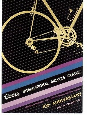 NEW 1984 Coors International Bicycle Classic Postcard