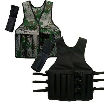 20KG New Adjustable Unisex Running Load Tactical Weighted Vest Training Jackets