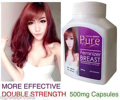 500mg Transgender Breast Enlargement Pills Male to Female Transition Capsules