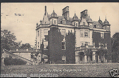 Scotland Postcard - Arndilly House, Craigellachie   MB1414