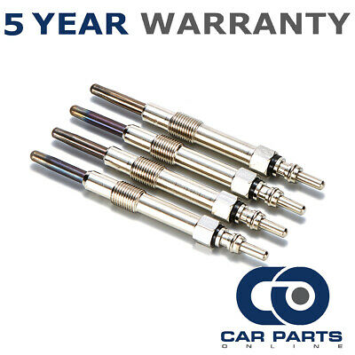 4X For Fiat Doblo 1.9 Jtd 8V (2002-2005) Diesel Heater Glow Plugs Full Set