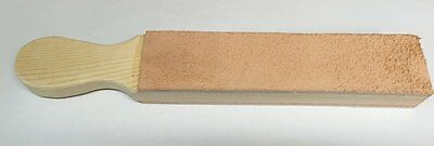 "wood Leather strop SON OF A PADDLE by MarkusB 2 sided 2""x12"" no compound"
